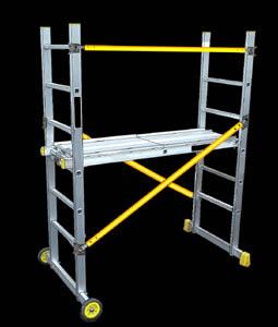 petit échafaudage roulant, petite plates-forme, gazelle, haute gazelle, escaliers, échelle d escalier, echafaudage d'escalier