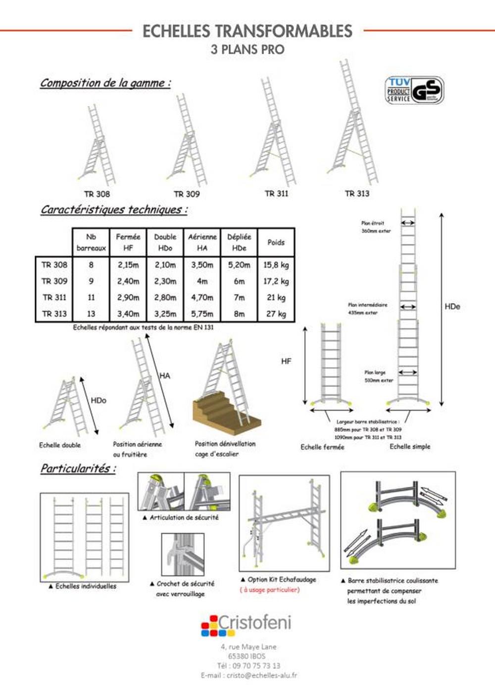 echelle 3 plans. Black Bedroom Furniture Sets. Home Design Ideas