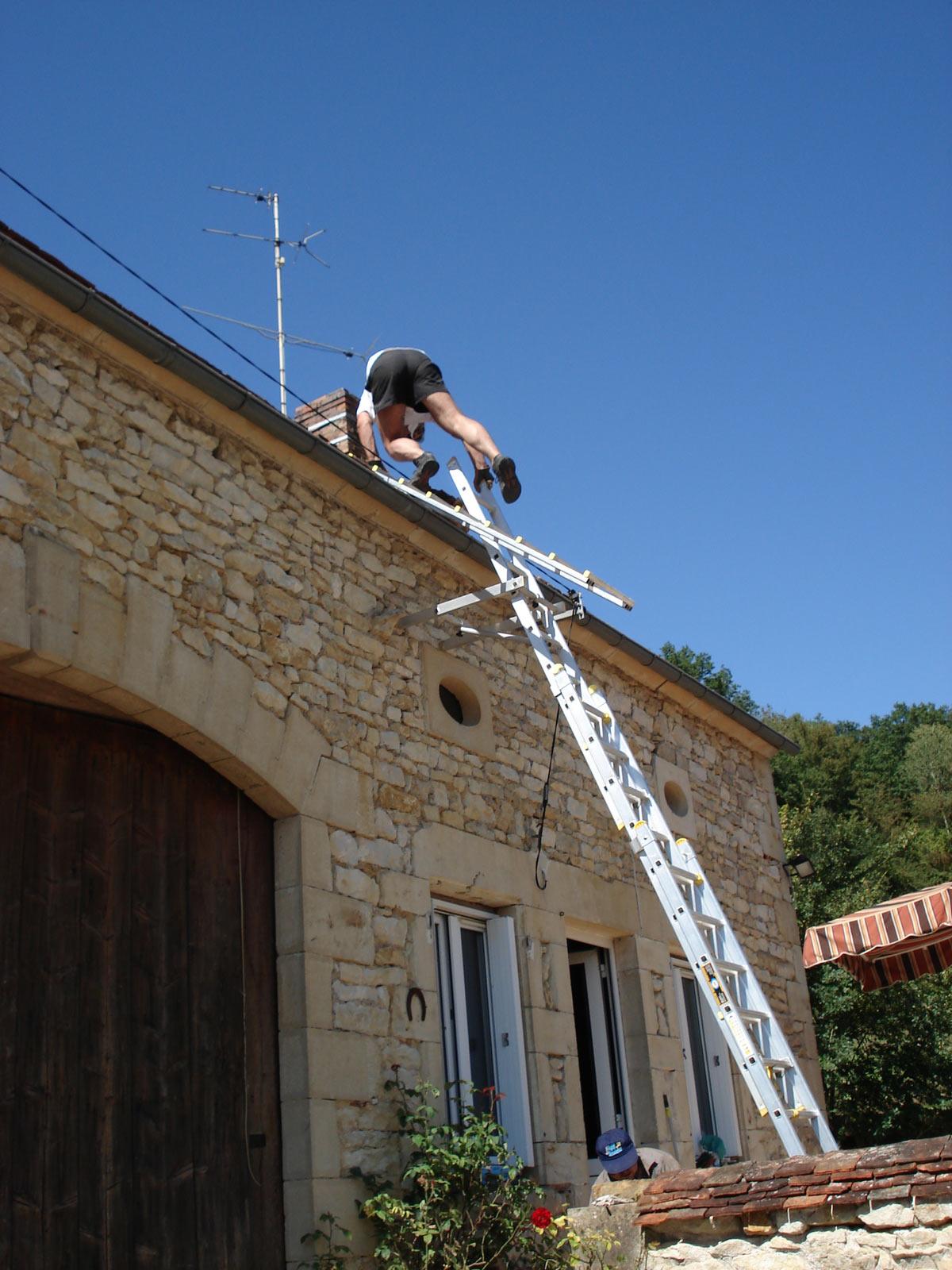 Echelle de toit for Castorama echelle de toit